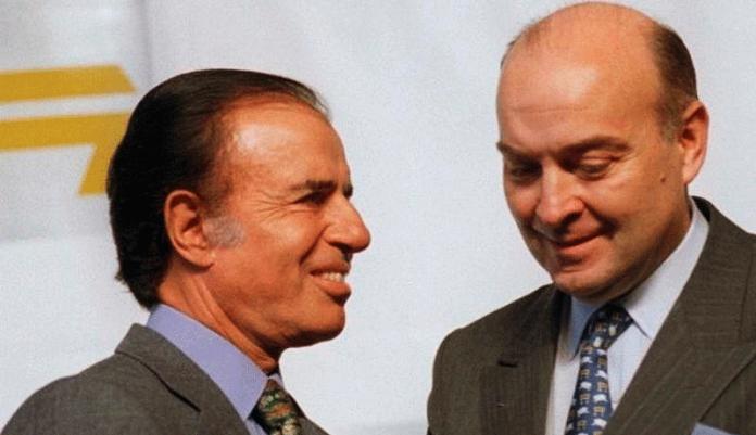 Carlos Menem Domingo Cavallo Dinero de la Corrupción