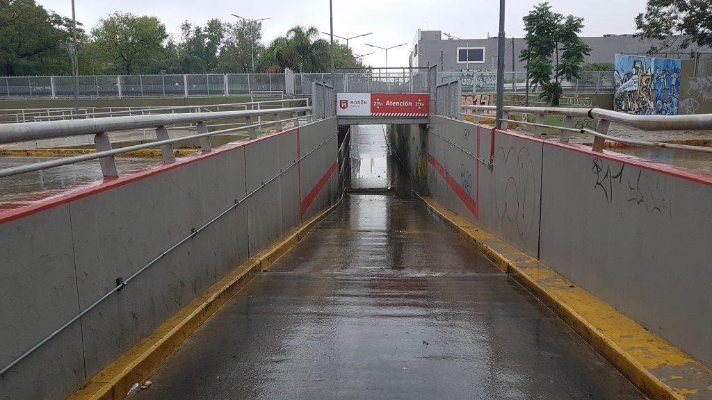 Inundaciones en Morón