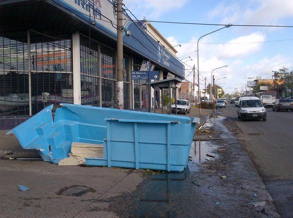 Morón y las inundaciones: La lucha contra el agua