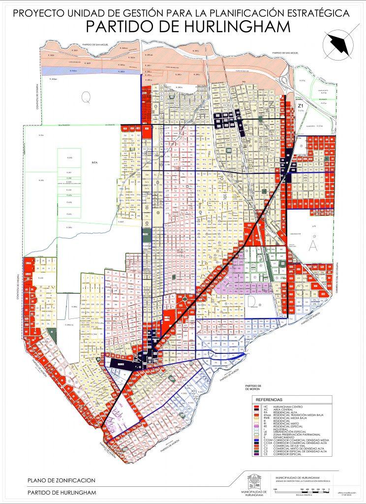 COU Hurlingham Código de Ordenamiento Urbano