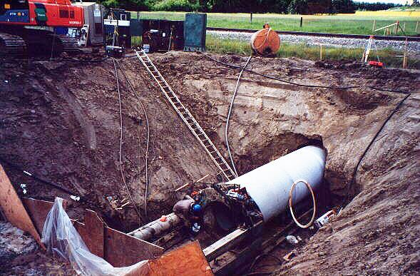 AySA Cloacas Morón Tuneladora pipe jacking