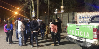Policía Bonaerense Militantes Peronista Cristina
