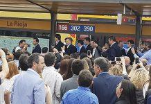 Mauricio Macri María Eugenia Vidal Ramiro Tagliaferro Metrobus Morón