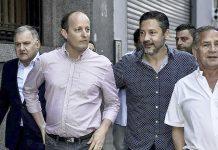 Martín Insaurralde Gustavo Menéndez y Alberto Descalzo