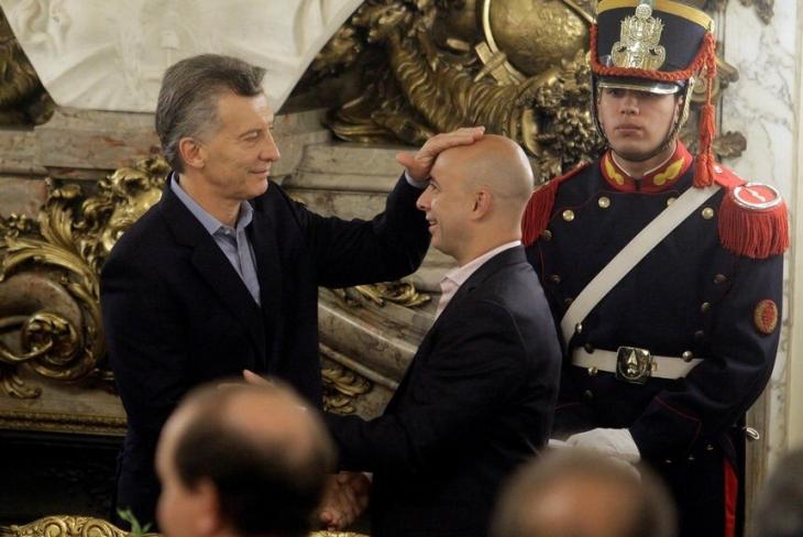Martín Ocampo Mauricio Macri