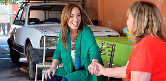 María Eugenia Vidal Presupuesto 2019