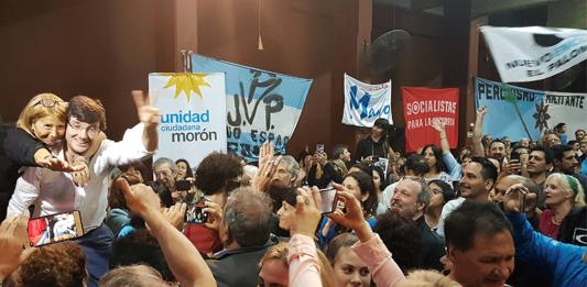 Lucas Ghi Nuevo Encuentro Martín Sabbatella Mónica Macha