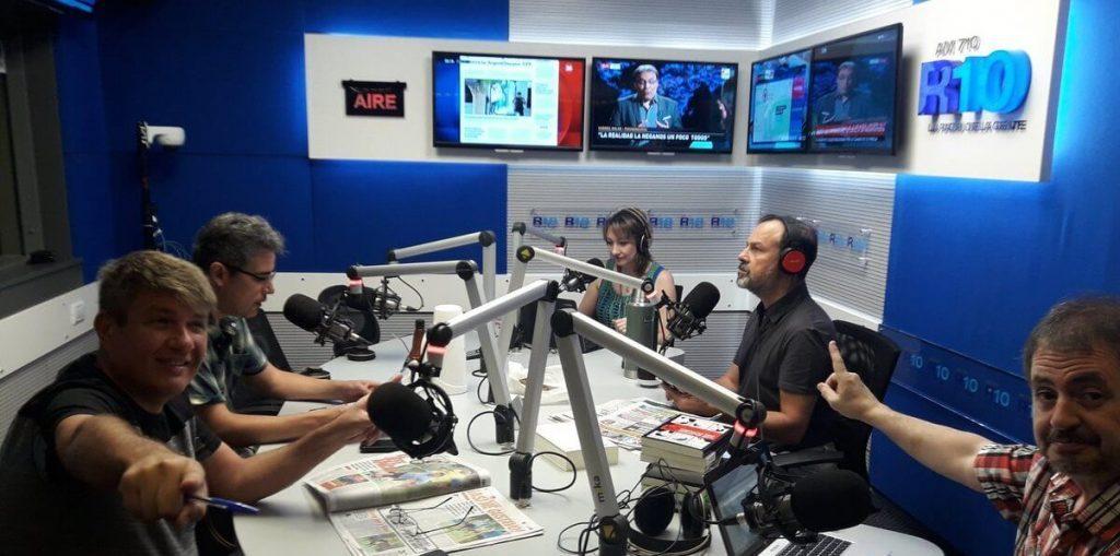 Gustavo Sylvestre Radio 10