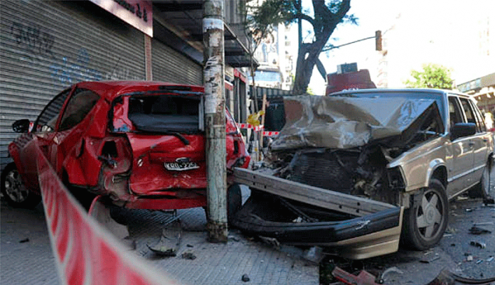 Año Nuevo Trágico Accidentes de Tránsito