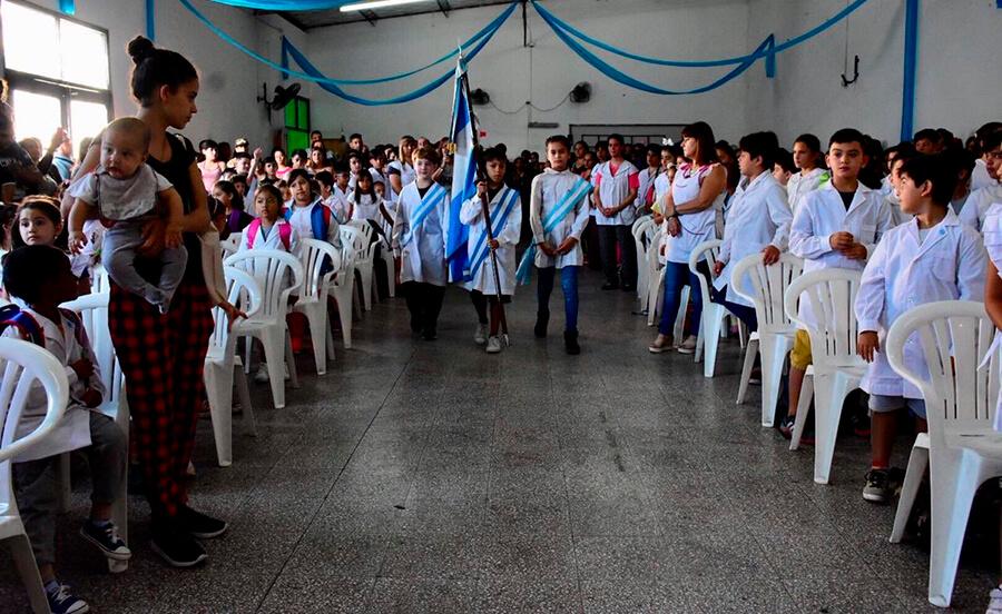 Tagliaferro abrió las clases en Morón