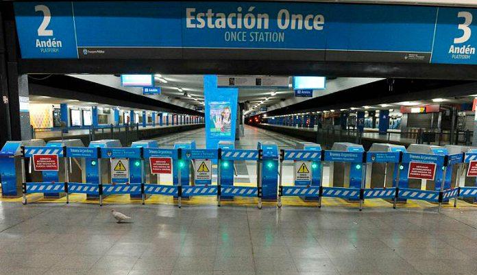 Ferrocarril Sarmiento: Levantaron el paro