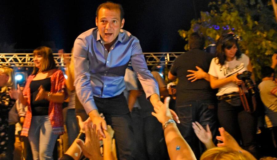 Omar Gutiérrez Movimiento Popular Neuquino Neuquén