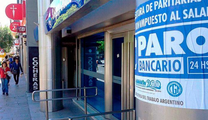 Paro 30 de Abril: Bancos