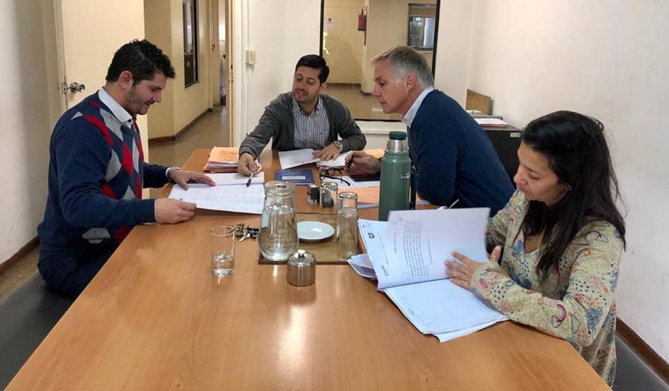 Emiliano Catena, Juan Nardo, Leandro Ugartemendia, María Eugenia Brizzi