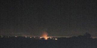 Incendio detrás de la Reserva