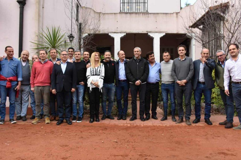 Merlo: Intendentes peronistas se reunieron