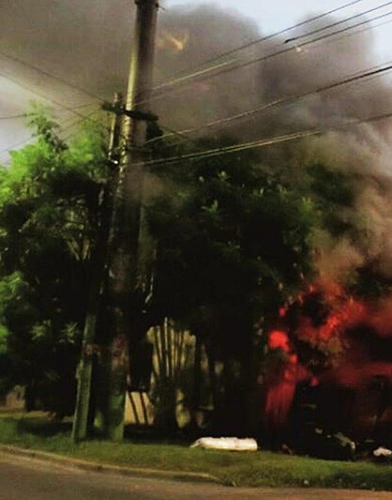 Hoy Fuego en Hurlingham