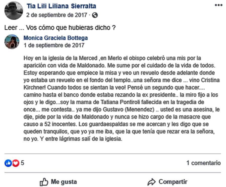 Hoy y Ahora: Murió Mamá Mónica Bottega