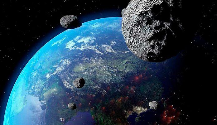 Tierra Impacto Asteroide NASA