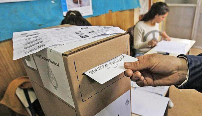 Voto Elecciones 2019