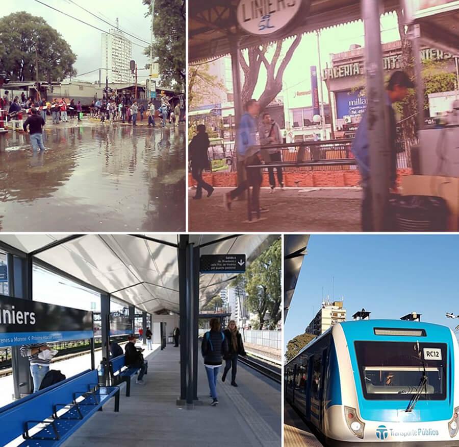 Liniers Estación: El Soterramiento