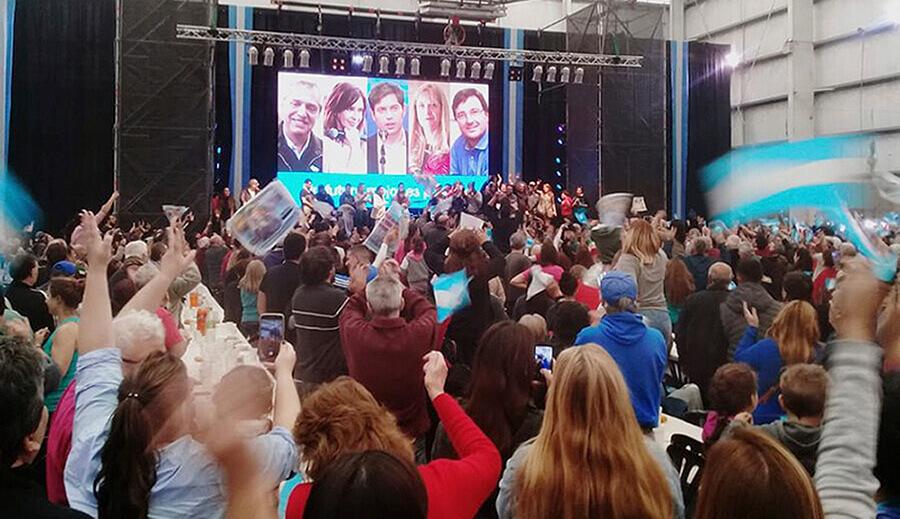 Morón: Máximo Kirchner