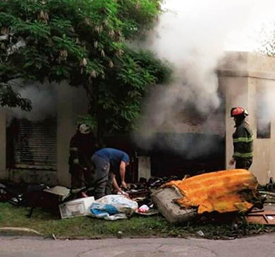 Hurlingham Incendio Brutal