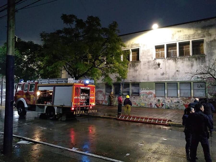 Ituzaingó incendio de un aula