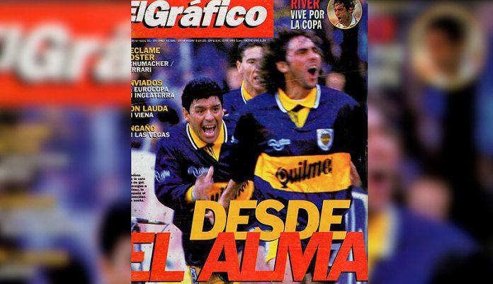 Hoy Maradona hacía su último