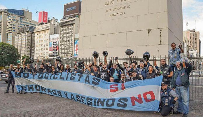 Morón Hoy: Motoqueros Protestan