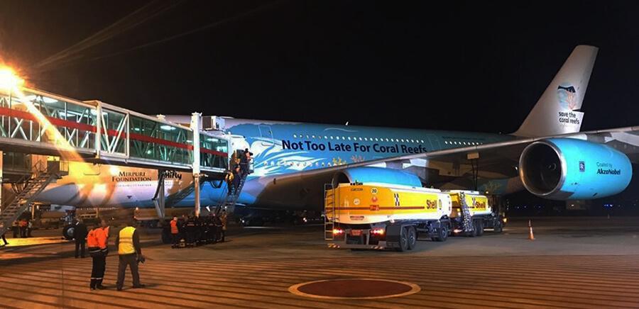 Fundación Mirpuri: El Airbus 380-800