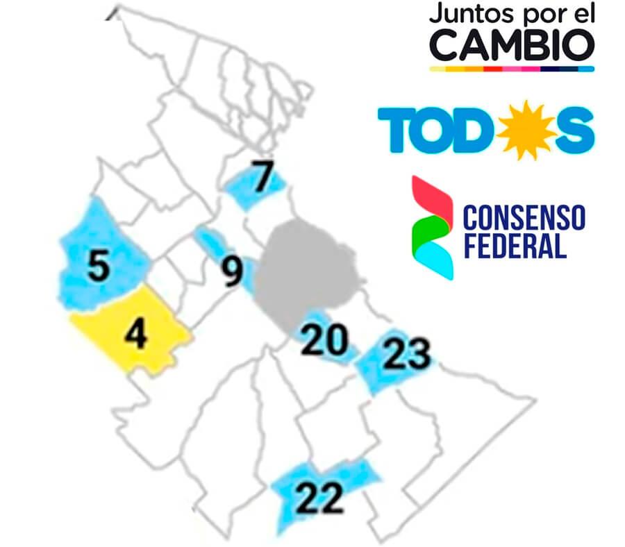 Elecciones PASO 2019 en el conurbano