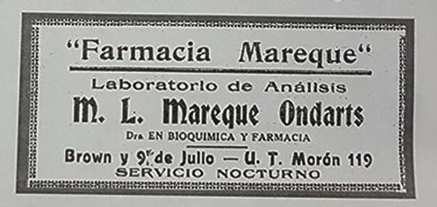 Farmacia Mareque Ondarts Morón