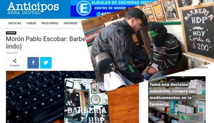 Pablo Escobar: Barbería HDP