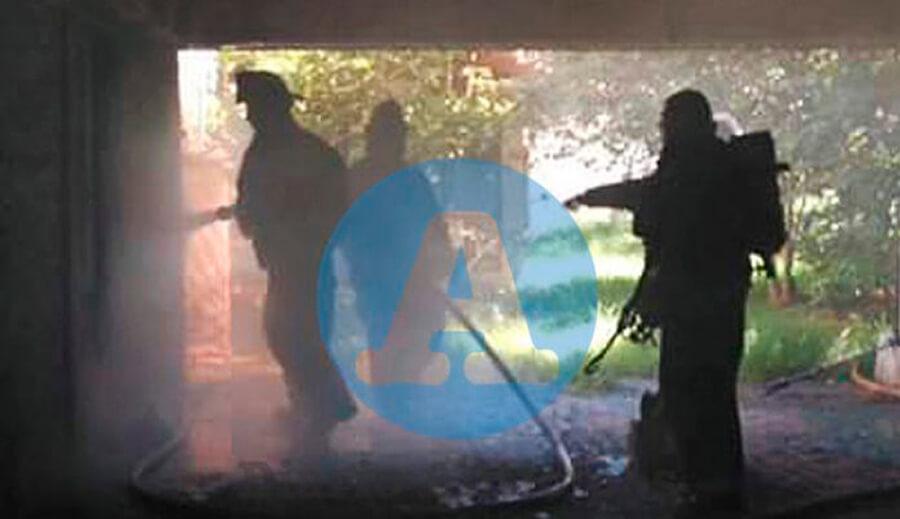 incendio la ex Regional de Inteligencia Buenos Aires