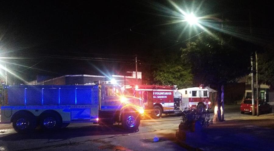 Hoy: Incendio en Depósito de Gendarmería