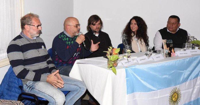 Padre Pepe y Dirigentes Peronistas