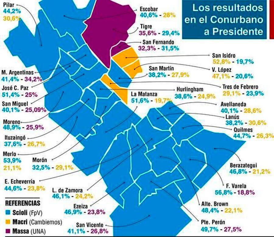 Elecciones 2019: Macri y el Conurbano