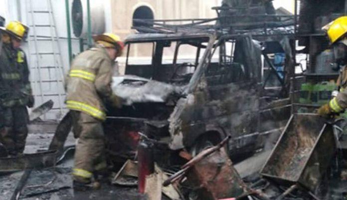 Morón: Explosión en la GNC
