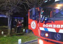Hurlingham: Incendio por cortocircuito