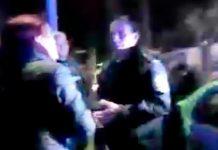 Hoy Morón: Policía frena al Frente de Todos