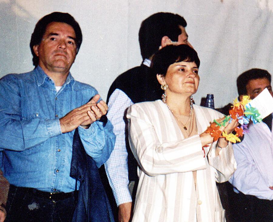 Luis Barrionuevo y María Esther Barrionuevo