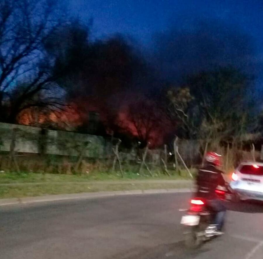 Morón: Hoy y Ahora Incendio