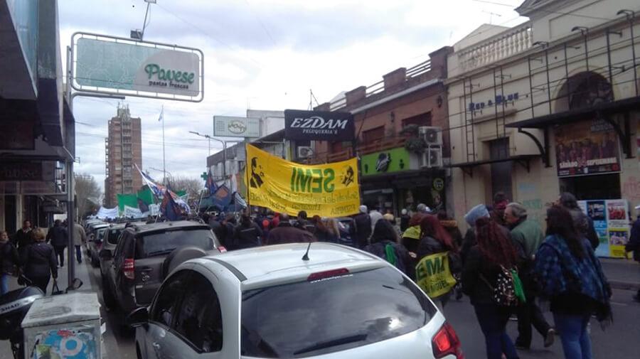 Protesta Morón