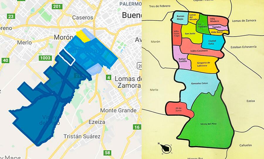 Elecciones Generales 2019 La Matanza Isidro Casanova y Rafael Castillo