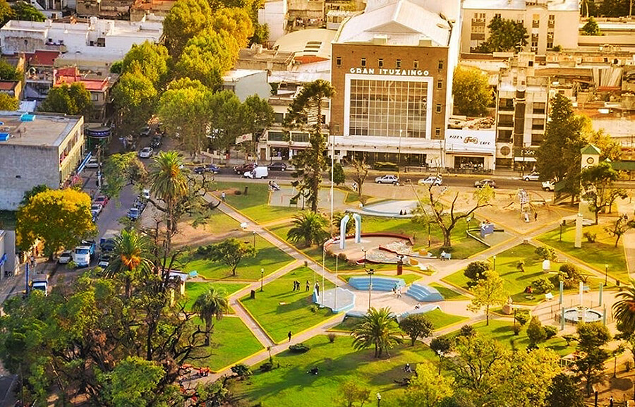 Plaza San Martín Ituzaingó