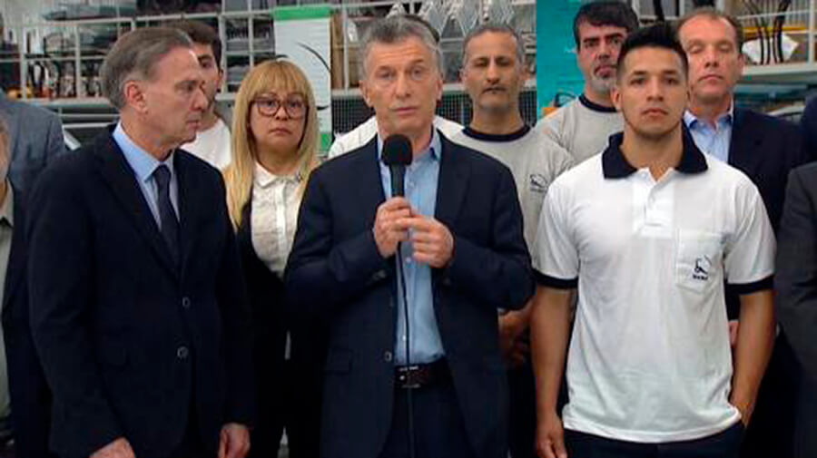 Morón Hoy: Visita de Macri