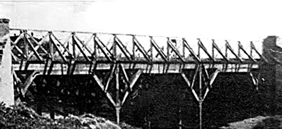 Puente Márquez y Río Reconquista 1928