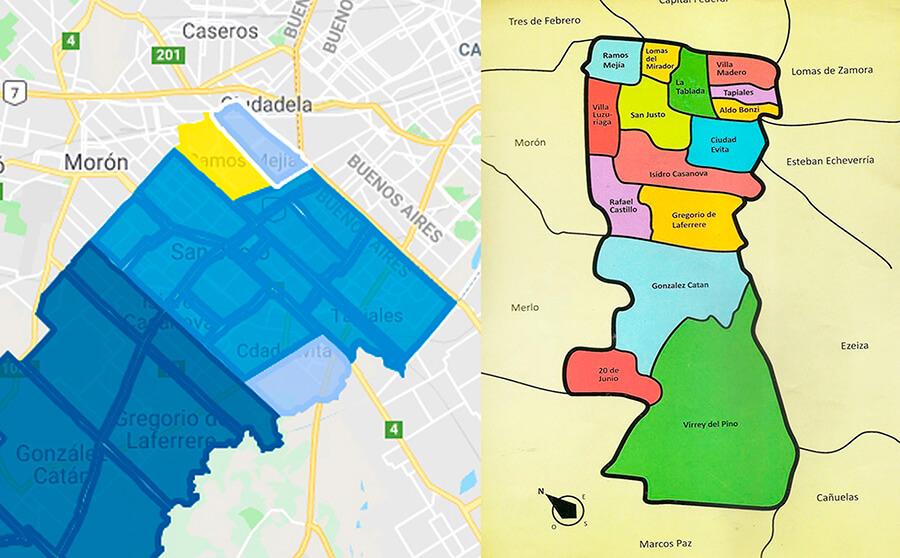 Circuito Electoral Ramos Mejía Sur