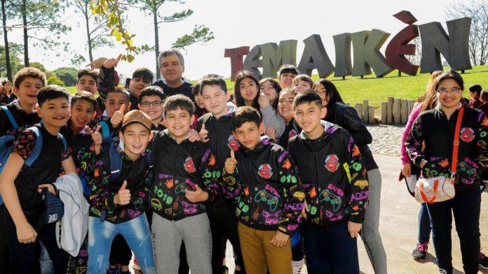 Hurlingham: Alumnos en Temaikén
